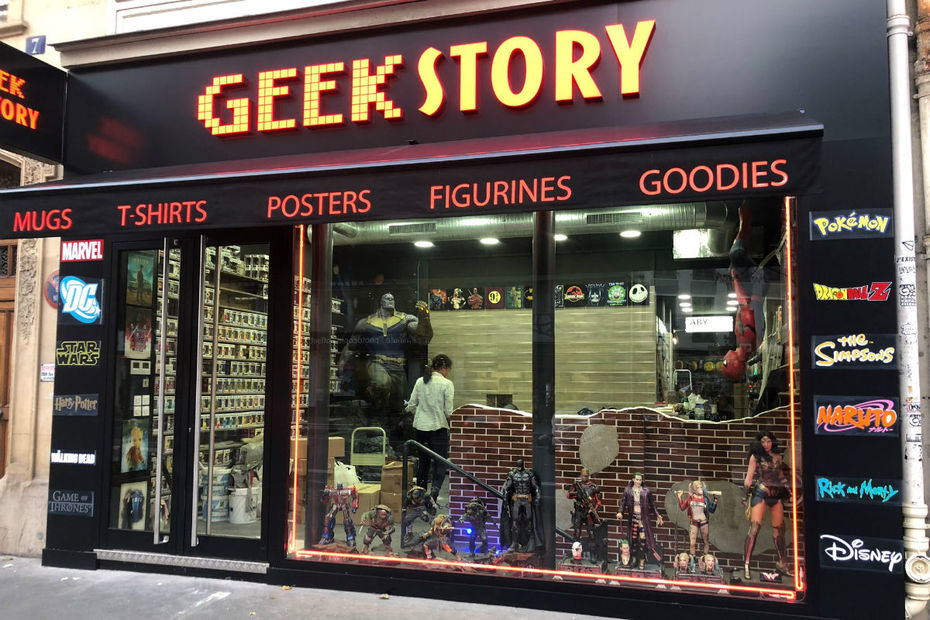 Geek story - Paris