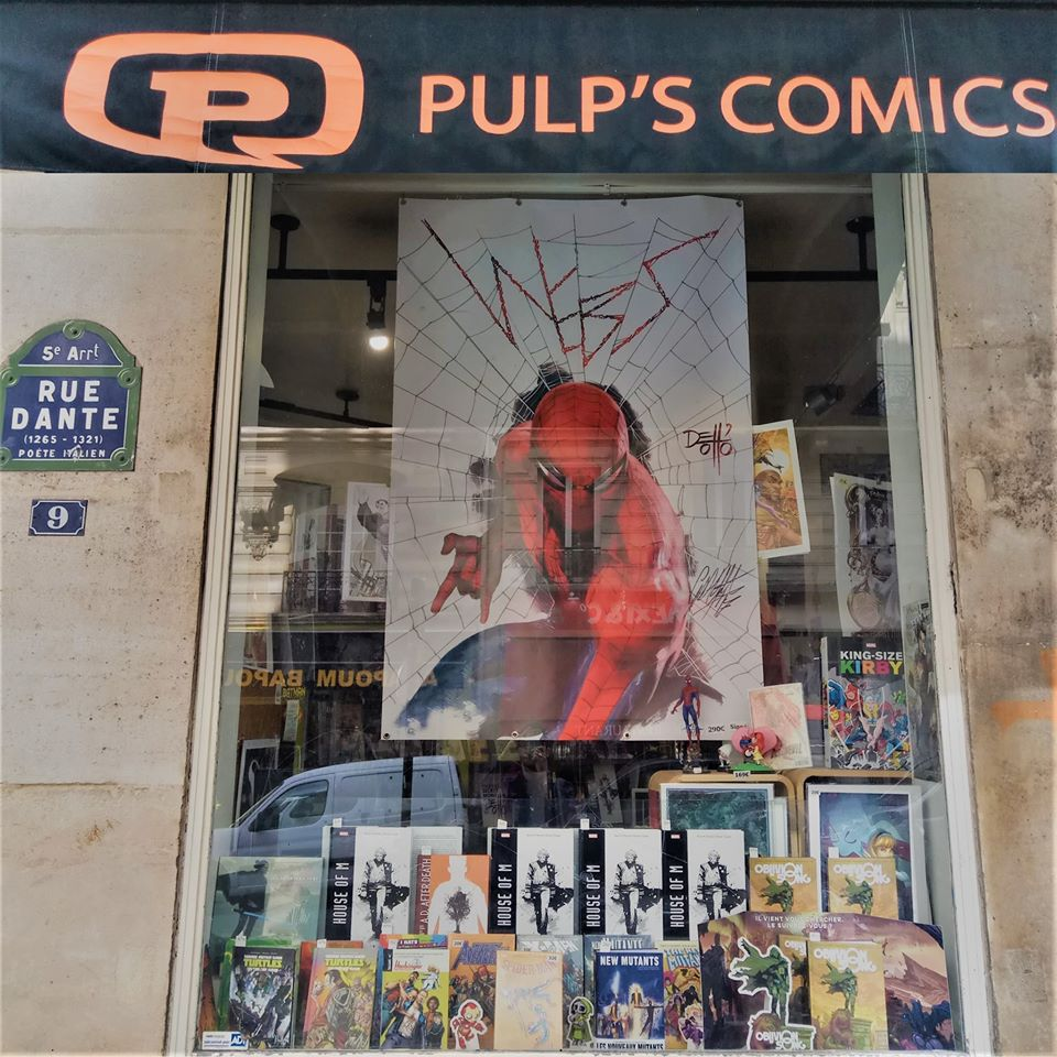 Pulp's comics - Paris