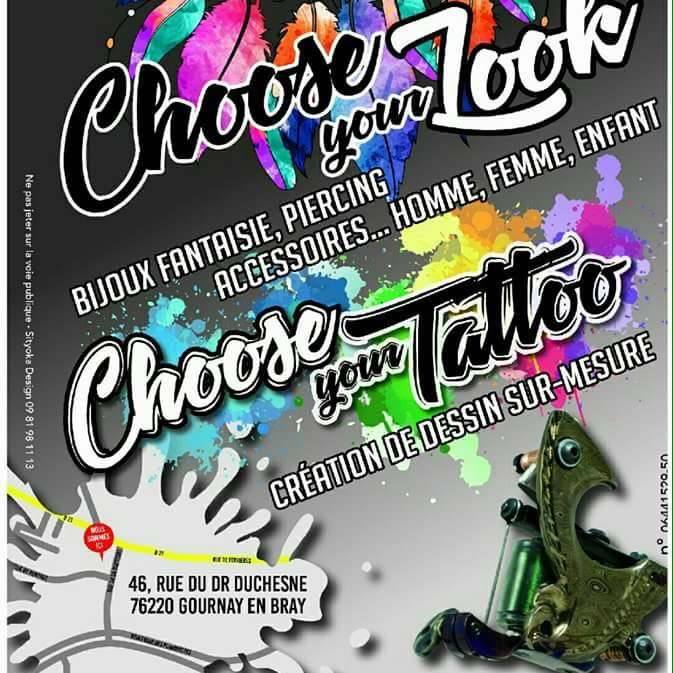 Choose your tattoo - Gournay-en-Bray