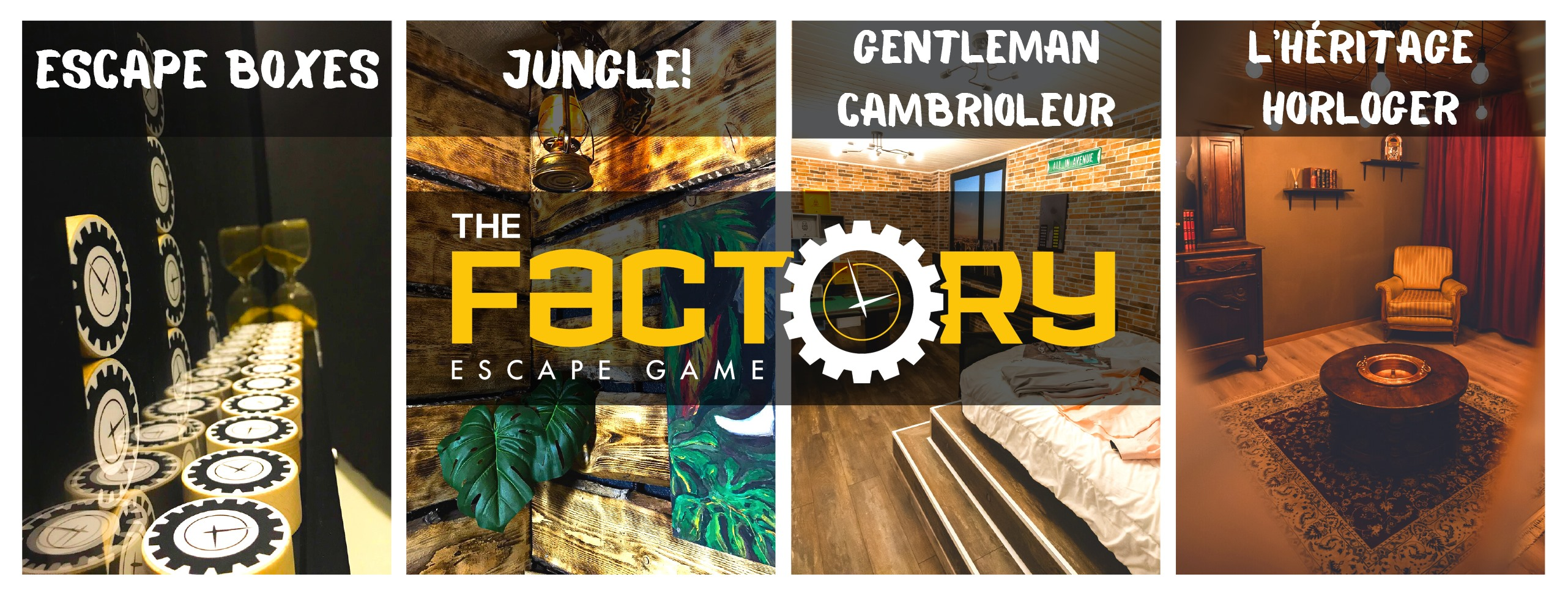 The Factory Escape Game - Courtételle
