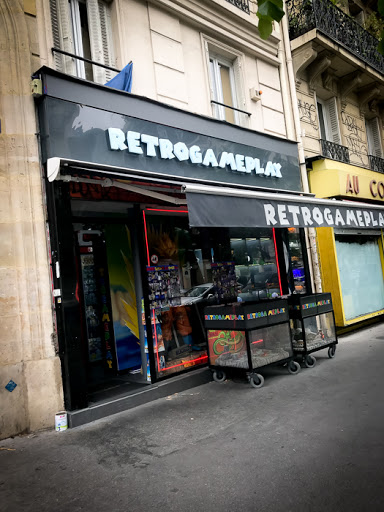 Retrogameplay - Paris